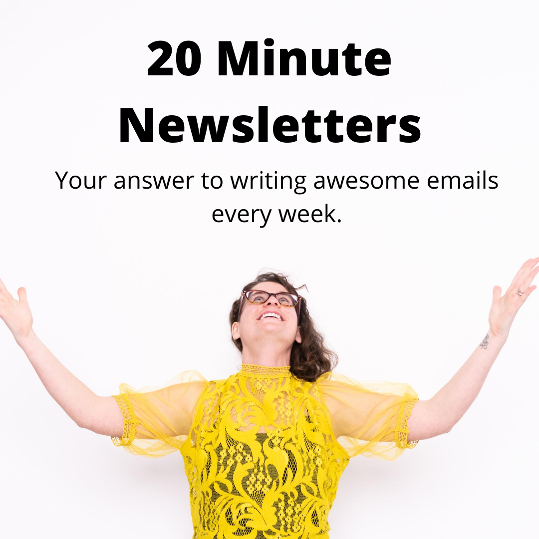 20 minute news letters