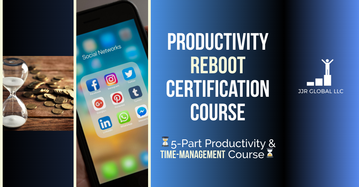 Productivity Reboot Certification Course