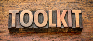 Image of the word toolkit