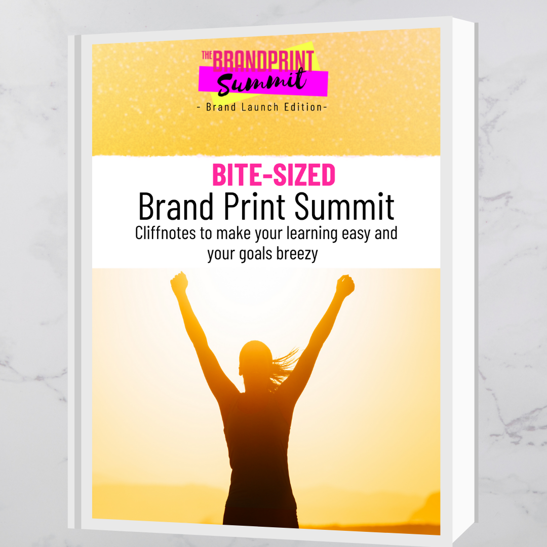 Image of Brandprint Summit Cliff notes